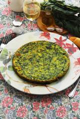 Frittata di spinaci e bieta - Antipasti
