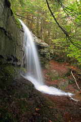 Waterfall side view