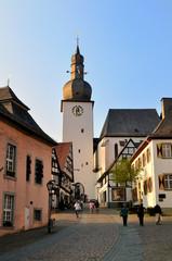 Abendstimmung in der Altstadt Arnsberg