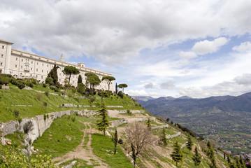 abbazia di montecassino, cassino, italia
