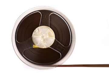 Audio tape reel