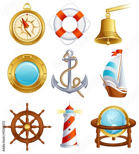 Ikona żeglugi