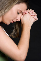 Girl Praying