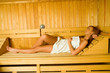 Beauty in sauna