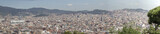 Barcelona, Spain panorama, city's skyline