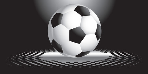 Interesting soccer ball