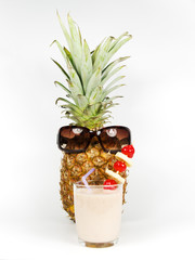 pineapple and smoothie health
