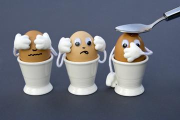 3 Eier