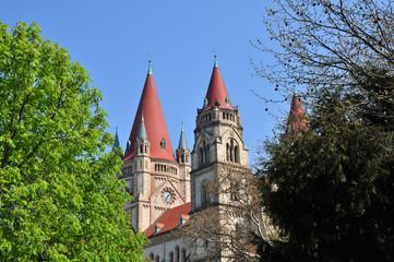 Franz von Assisi Kirche, Wien