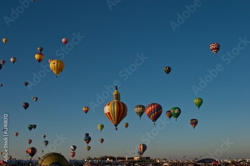 Leinwandbild Motiv Albuquerque International Balloon Fiesta