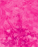 Pink flora pattern grunge background. Vector layered.