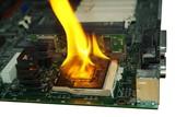 burning processor poster