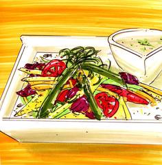 Vegetarische Speise