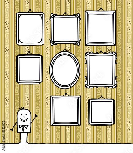 cadres papier peint fichier vectoriel libre de droits sur la banque d 39 images. Black Bedroom Furniture Sets. Home Design Ideas