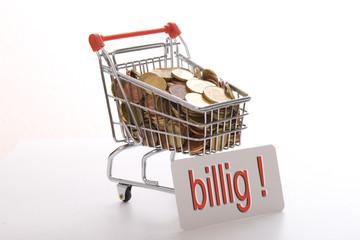 Einkaufswagen billig