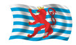 luxemburg fahne inoffiziell luxembourg flag inofficial