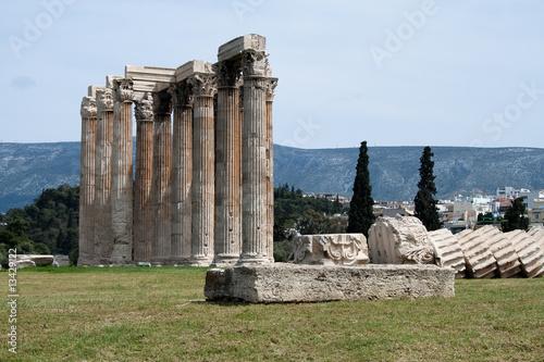Papiers peints Athènes L'Olympiéion d'Athenes