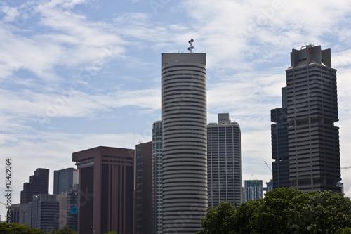 Fotobehang Singapore urban view 22