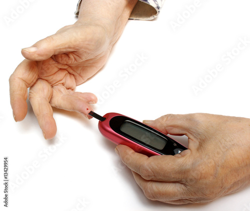 self-monitoring of blood glucose levels