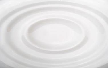 Onda de leite, efeito abstracto