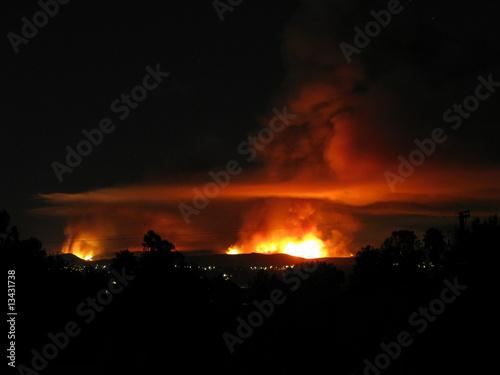 California Wildfire - 13431738