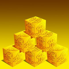 Cubo Euro Dollaro-Euro Dollar Cube 2