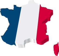 Frankreich 3D