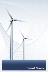 Wind Energy - Brochure cover or Business card