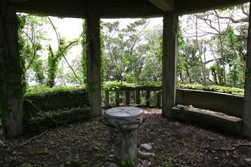 廃墟の展望台