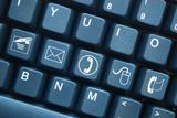 """""""Contact"""" keys on keyboard (x5)"""
