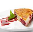 Dessert - Cherries Cake