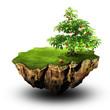 Аpple tree on flying island
