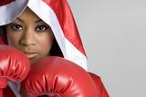 Fototapety Black Boxing Woman