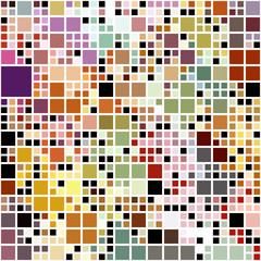pastel colored blocks pattern