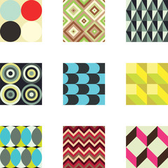 Geometric patterns set 1