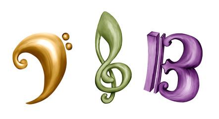Claves de Música