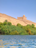 Images from Nile. Agha Khan mausoleum poster
