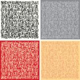 square doodles poster