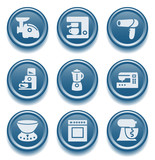 Button icon set 19