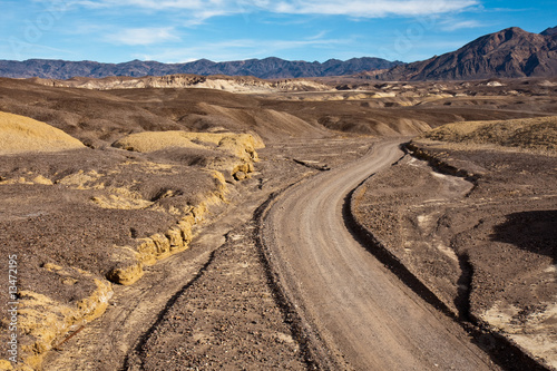 Dirt Road in Mustard Canyon