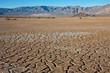 Leinwanddruck Bild - Cracked Earth Landscape