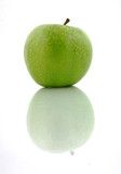 Granny Smith Apple Shadow poster