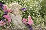 Fototapety Engel im Garten