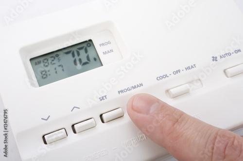 Leinwanddruck Bild Climate control