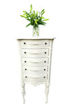 drawers and floral arrangement poster