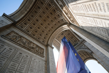 arc of triumph, paris