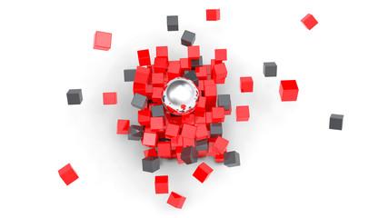 3D Explosion box