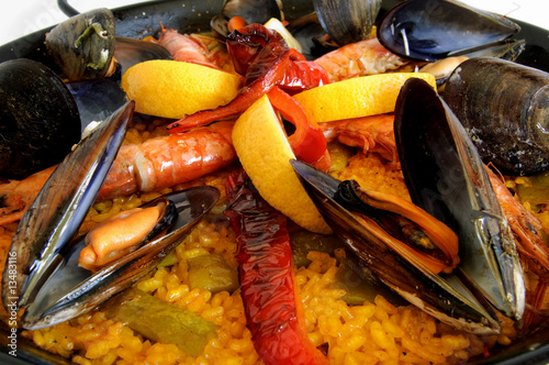 Paella - Traditional spanish rice