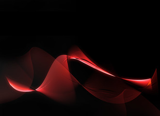 Abstract red smoke effect background
