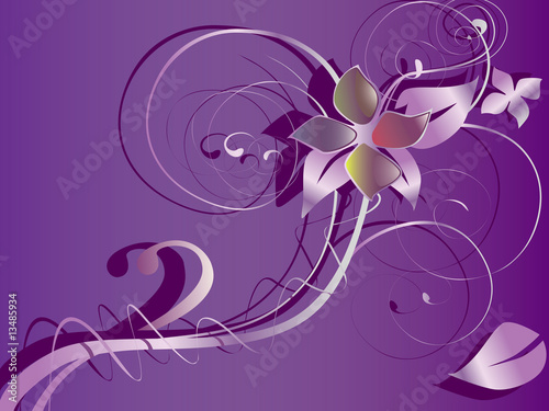 ABSTRACTION FLOWER